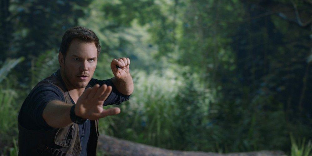 """Chris Pratt schlüpft für """"Jurassic World: Das gefallene Königreich"""" zum zweiten Mal in die Rolle des Dino-Flüsterers Owen."""