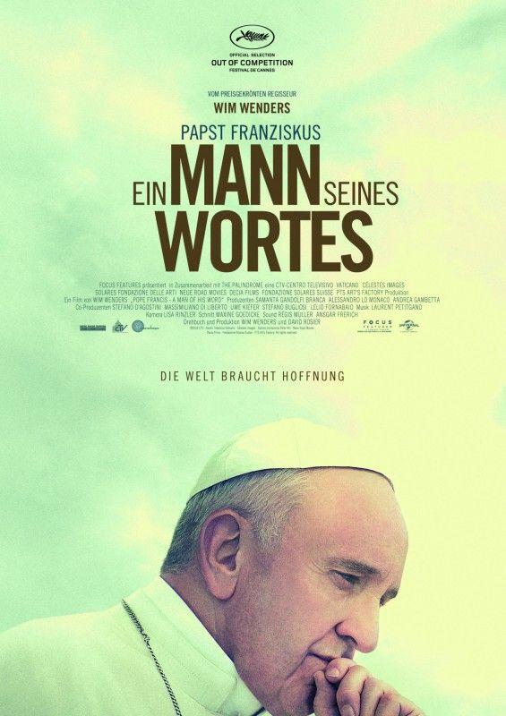 """Anderthalb Stunden filmische Audienz: Wim Wenders' Dokumentarfilm """"Papst Franziskus - Ein Mann seines Wortes"""" macht aus Kinobesuchern """"Gläubige""""."""