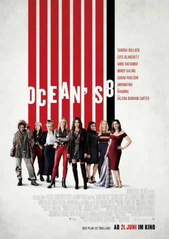 Jetzt können die Männer einpacken: Debbie Ocean (Sandra Bullock, fünfte von links) und ihr Team planen einen Diamanten-Raub, der sich mit dem ihres Bruders Danny Ocean messen kann.