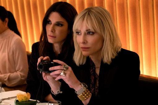 Wird der Plan aufgehen? Debbie (Sandra Bullock, links) und Lou (Cate Blanchett) sind die Köpfe hinter der Aktion.