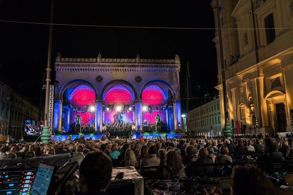 Konzert Odeonsplatz