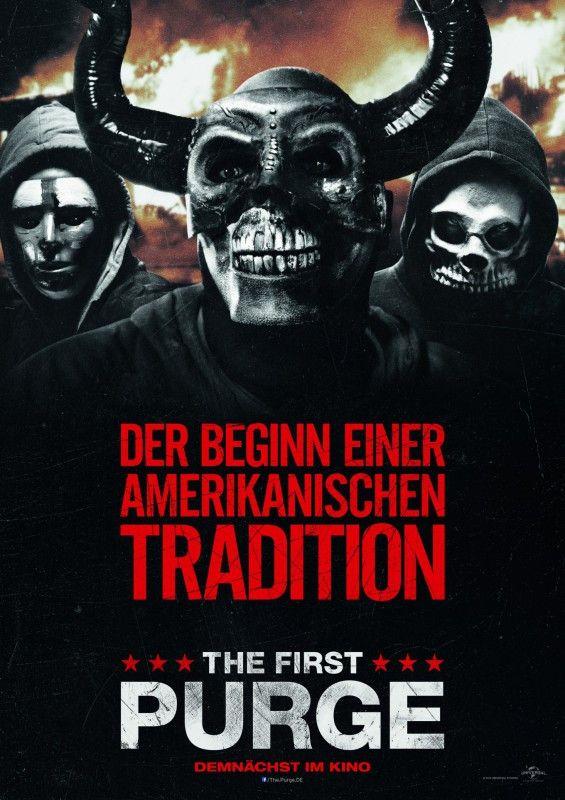"""""""The First Purge"""" zeigt als Prequel den Beginn der blutigen Nacht."""