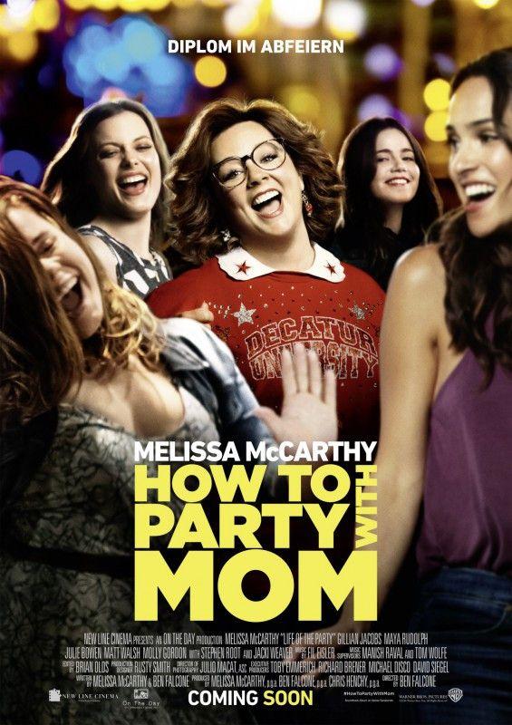 """In """"How to Party with Mom"""" begibt sich Hausfrau Melissa McCarthy zurück aufs College."""