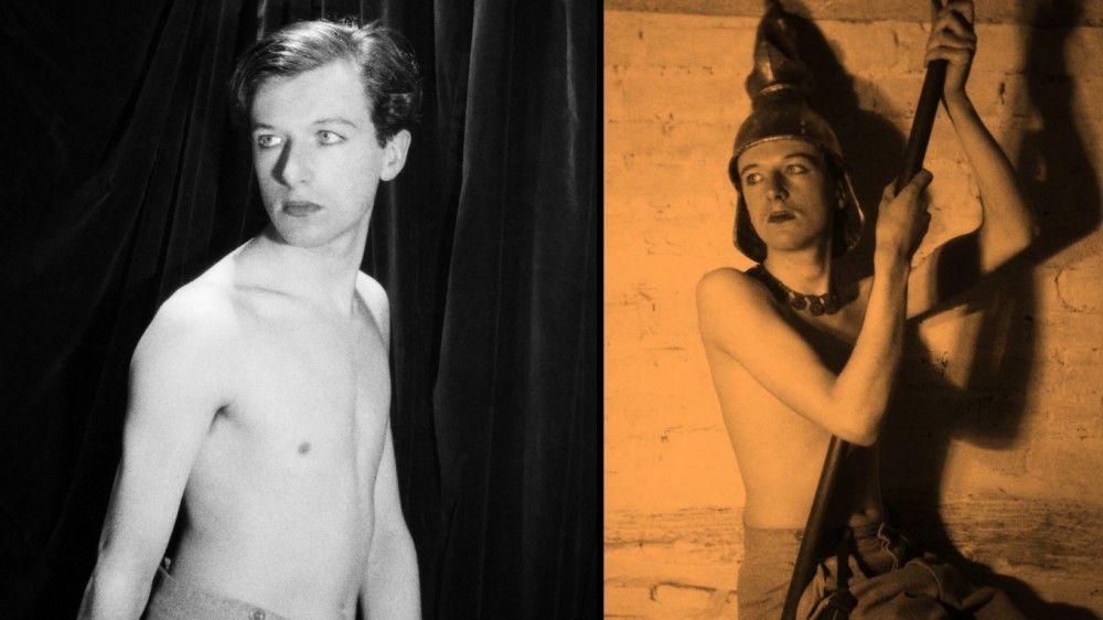 Das Theater faszinierte Cecil Beaton, und er schlüpfte vor der Kamera gerne in verschiedene Rollen.