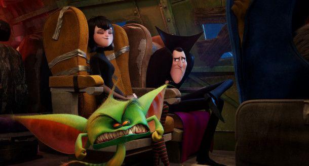 """Die Monster haben einen Flug bei """"Gremlin Air"""" gebucht. Ob das eine gute Entscheidung war?"""