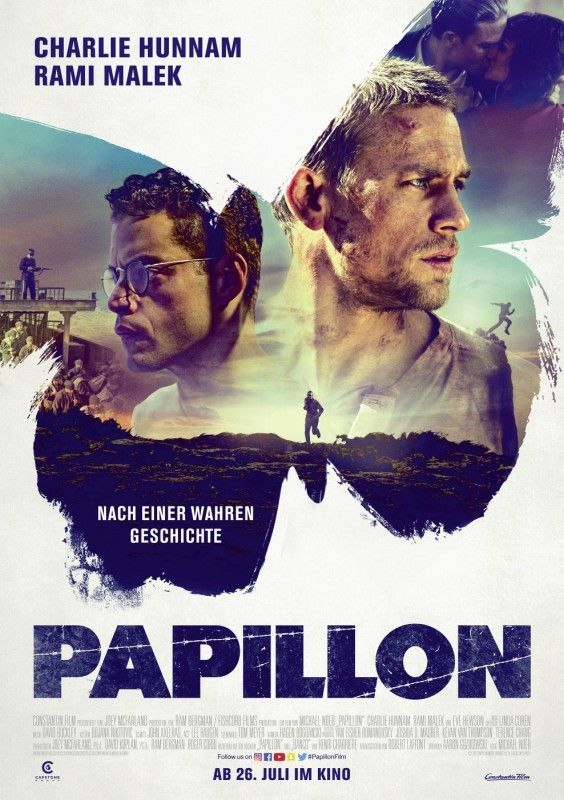 """Mit """"Papillon"""" kommt ein Remake des Klassikers von 1973 auf die Leinwand."""