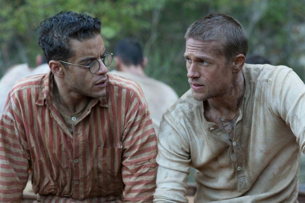 Louis Dega (Rami Malek, links) und Papillon (Charlie Hunnam) verbindet eine tiefe Freundschaft.