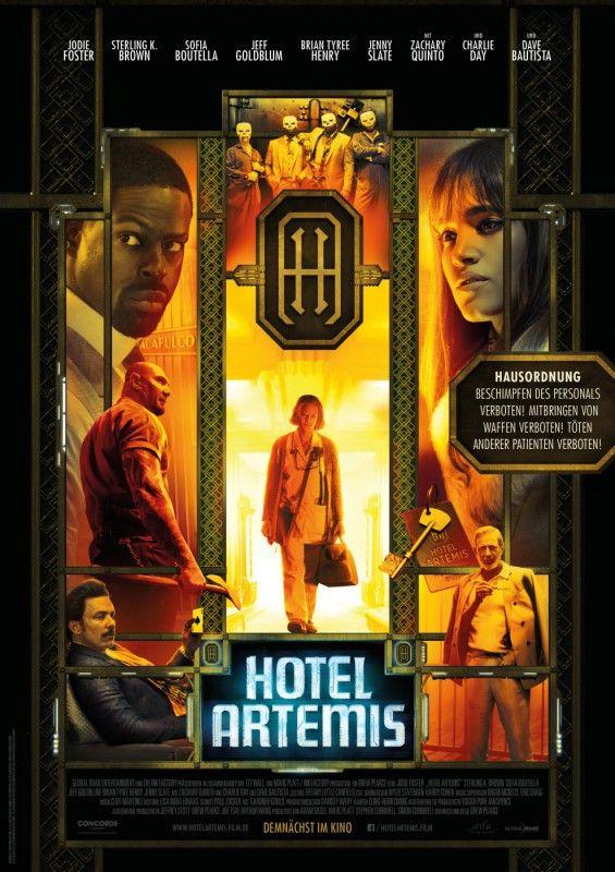 """Science-Fiction, Action, Film Noir - """"Hotel Artemis"""" ist von allem etwas."""