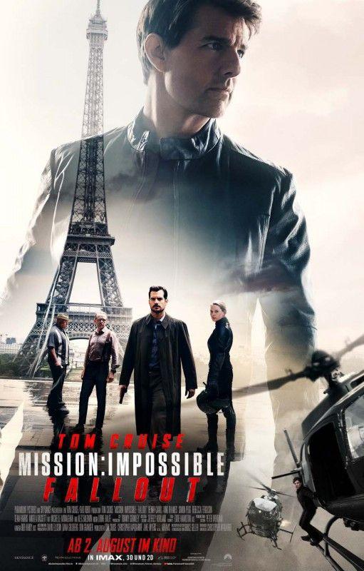 """Mit """"Mission: Impossible - Fallout"""" übernimmt Tom Cruise zum sechsten Mal seine Paraderolle als Agent Ethan Hunt."""