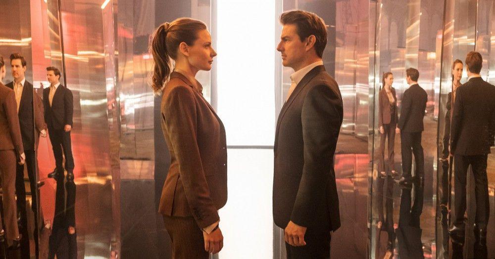 Ethan Hunt (Tom Cruise) trifft auf eine alte Bekannte: die frühere MI6-Agentin Ilsa Faust (Rebecca Ferguson).