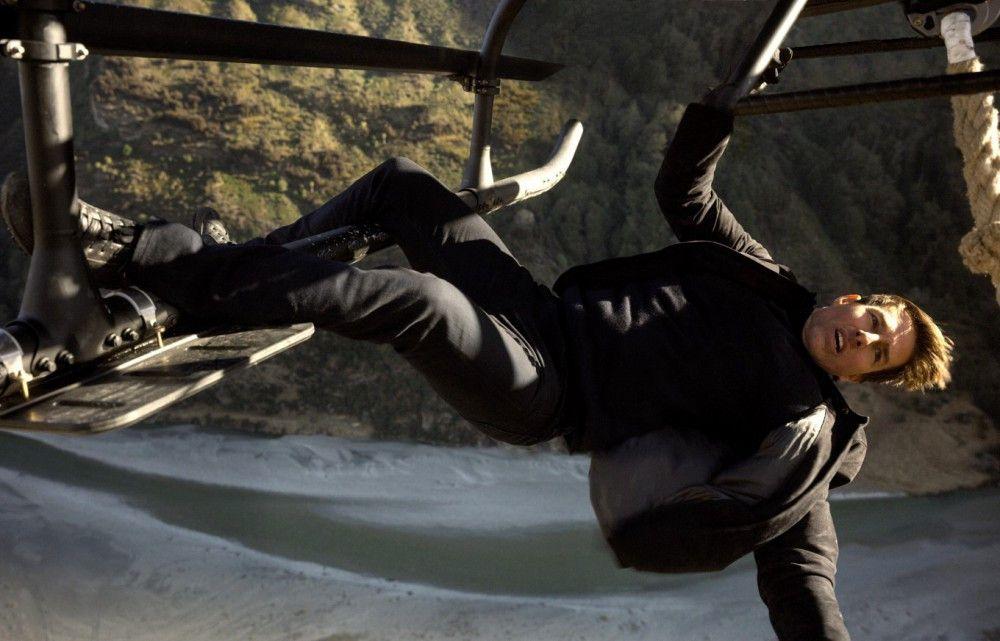 """Tom Cruise absolvierte auch für """"Mission: Impossible - Fallout"""" einen Großteil seiner Stunteinlagen selbst."""