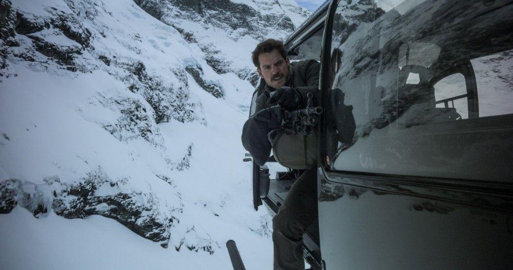 Nicht nur Ethan Hunt, auch August Walker (Henry Cavill) bringt vollen Einsatz.