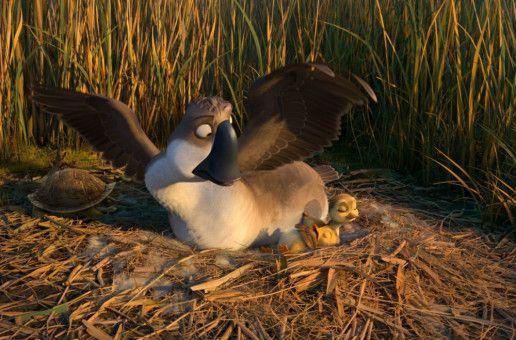 Gänserich Peng wird plötzlich zum Ersatzvater von zwei Entenküken.