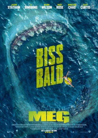 """Ein weiterer Hai-Thriller: """"Meg"""" ist die Verfilmung des gleichnamigen Romans von Steve Alten."""
