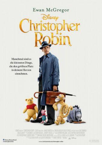 """Nachdem Disney unter anderem schon seine Zeichentrickklassiker """"Die Schöne und das Biest"""", """"Alice im Wunderland"""" und """"Das Dschungelbuch"""" als Realfilme reanimiert hat, sind nun die Geschichten um Winnie Puuh und Christopher Robin (Ewan McGregor) an der Reihe."""