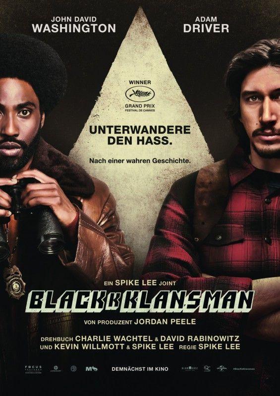 """In seiner formidablen Farce """"BlacKkKlansman"""" stellt Spike Lee den alten und neuen Rassismus an den Pranger - mit lustvoller Übertreibung und aberwitziger Ernsthaftigkeit."""