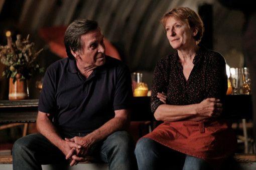 Im Gespräch über das Leben: Schorsch (Elmar Wepper) und Hannah (Dagmar Manzel).