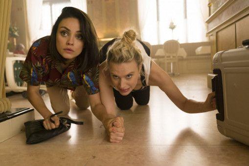 Wo sind Audrey (Mila Kunis, links) und Morgan (Kate McKinnon) da nur hineingeraten?
