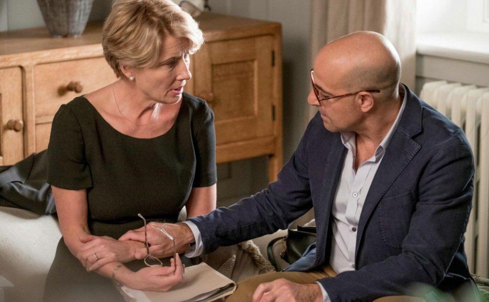 Seit vielen Jahren verheiratet, sind Fiona (Emma Thompson) und Jack Maye (Stanley Tucci) rein intellektuell gesehen ein Traumpaar - bei der zwischenmenschlichen Nähe gibt es freilich Defizite.
