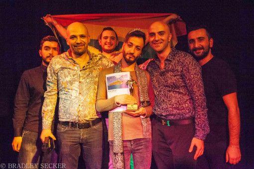 """Homosexualität ist in Syrien ein Straftatbestand. Dennoch gibt es einige Bewerber um den Titel """"Mr Gay Syria""""."""