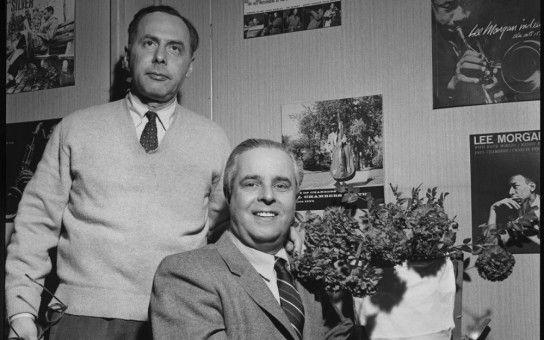 Alfred Löw (links) und Francis Wolff gründeten in den USA das Jazz-Label Blue Note Records.