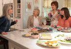 Treffen sich regelmäßig zu ihrem Bücherclub (von links): Diane (Diane Keaton), Sharon (Candice Bergen), Vivian (Jane Fonda) und Carol (Mary Steenburgen).