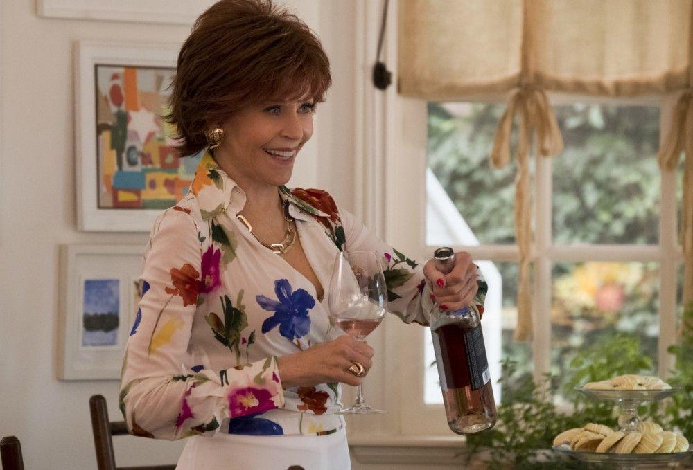 """Das neueste Buch-Projekt war Vivians (Jane Fonda) Vorschlag: """"Fifty Shades of Grey""""."""