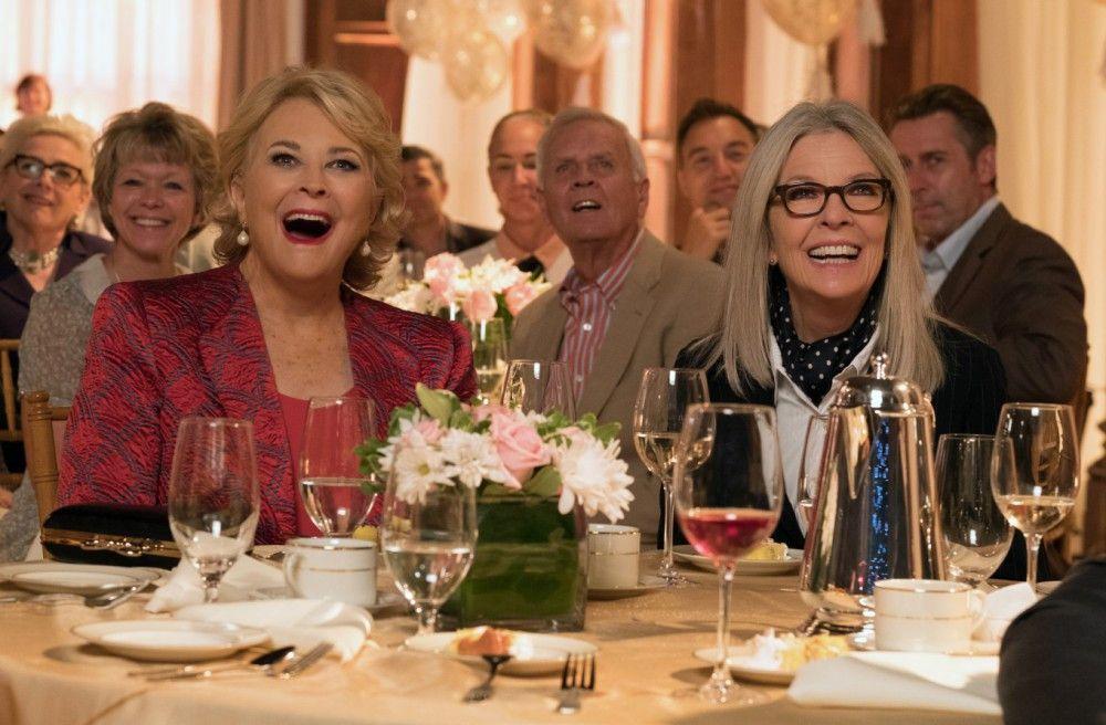 Spaß haben die Ladies auf jeden Fall: Diane (Diane Keaton, rechts) und Sharon (Candice Bergen).