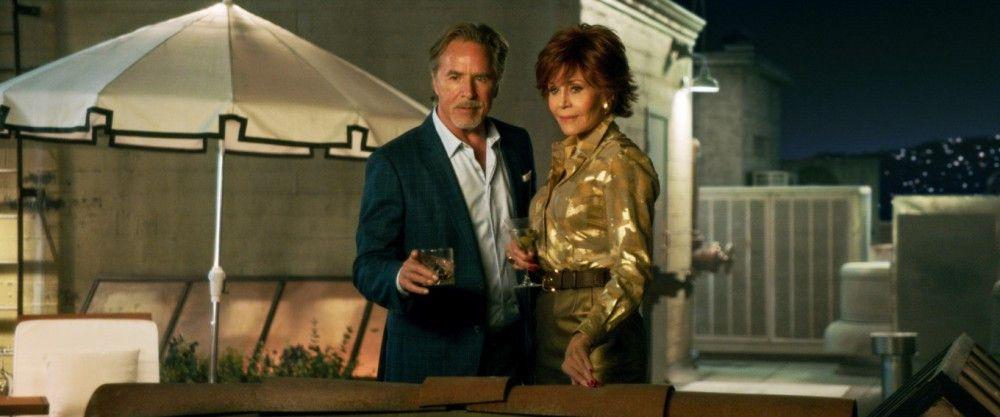 Vivian (Jane Fonda) trifft ihre Jugendliebe Arthur (Don Johnson) wieder.