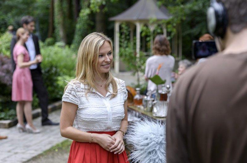 Saalfelds Tochter Sandra (Sarah Stork).