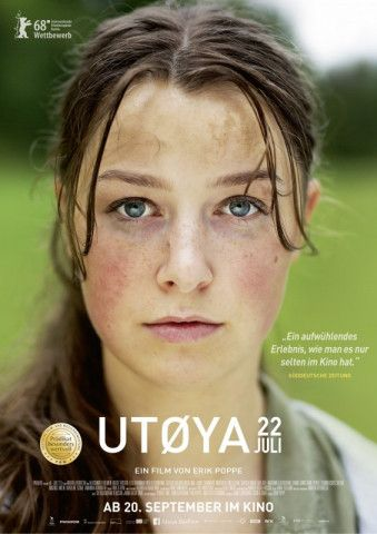 """Erik Poppes Drama """"Utøya 22. Juli"""" erzählt von dem Massaker, bei dem Anders Breivik 2011 in Norwegen 69 Jugendliche ermordete."""