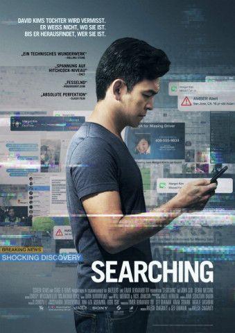 """Der temporeiche Thriller """"Searching"""" zeigt die spannende Online- und Offline-Suche nach einem verschwundenen Mädchen."""
