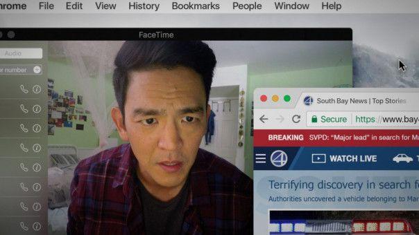 Bei der digitalen Suche nach seiner Tochter muss David (John Cho) feststellen, dass er seine Tochter nicht so gut kannte, wie er dachte.