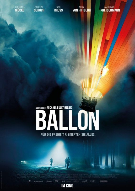 """Mit ihrer Flucht in einem """"Ballon"""" blamierten zwei Familien aus Thüringen 1979 die DDR-Führung: Michael Herbig machte aus ihrer Geschichte einen atemlosen Kinothriller."""