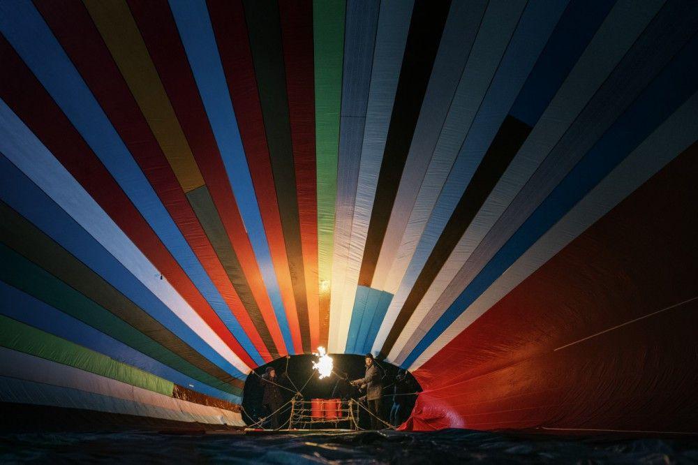 In einem Heißluftballon soll die Flucht gelingen - von dieser Luftnummer war die Stasi zunächst ziemlich überrascht.