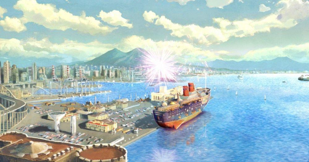 Seit über 15 Jahren sitzt das riesige Schiff im Hafen von Neapel fest.