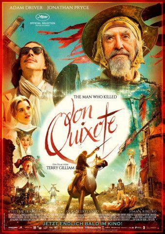 """Lange hat's gedauert: Nach fast 30 Jahren Arbeit konnte Terry Gilliam seinen """"Don Quixote"""" fertigstellen."""
