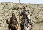 Einst war Toby (Adam Driver, links) hoffnungsvoller Nachwuchsregisseur. Jetzt reitet er an der Seite eines selbst erklärten Don Quixote (Jonathan Pryce) durch die spanische Prärie.