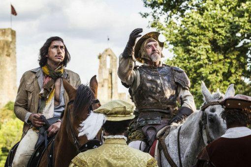 Hoch zu Ross: Don Quixote (Jonathan Pryce) und Toby (Adam Driver) reiten durch Spanien.
