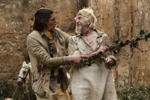 "Motiv aus ""The Man Who Killed Don Quixote"""