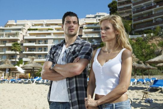 Auf Mallorca: Tobias Licht und Nina Gnädig