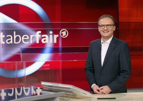 "Frank Plasberg moderiert die Talkshow ""Hart aber fair""."