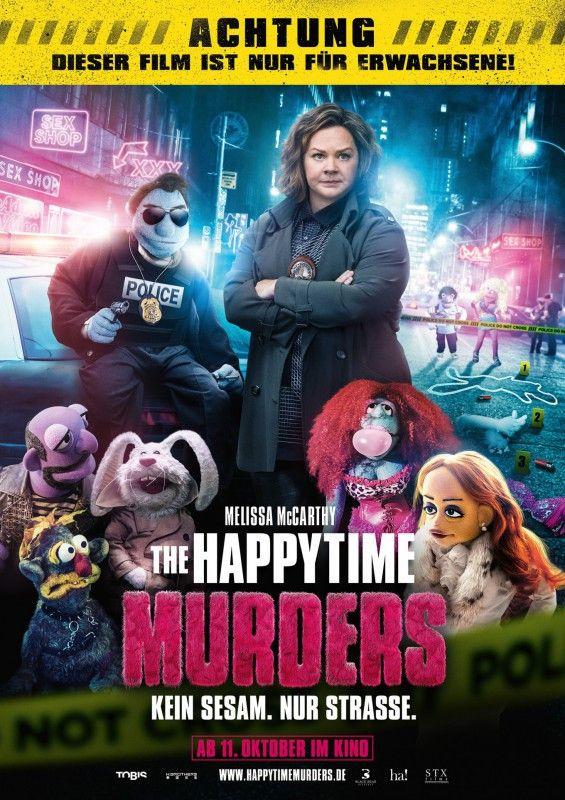 """Brian Hensons schmutzige Puppenkrimikomödie """"The Happytime Murders"""" ist leider nicht besonders witzig."""