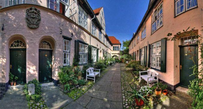 Der Füchtingshof in Lübeck.