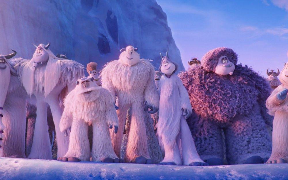 Und es gibt sie doch - zumindest im Film: die liebevoll gezeichneten Yetis.