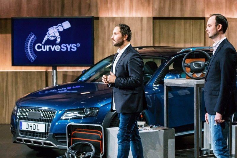 """<p><b>Der Gründer und sein Produkt</b>: Denis Güzelocak (35) hat die Sensorik """"CurveSYS"""" entwickelt, die Unfälle durch Sekundenschlaf verhindern soll.<p><b>Der Wunsch</b>: 300.000 Euro für einen Firmenanteil von zehn Prozent.</p> <p><b>Der Deal</b>: Carsten Maschmeyer investiert 300.000 für 25,1 Prozent der Firmenanteile.</p>"""