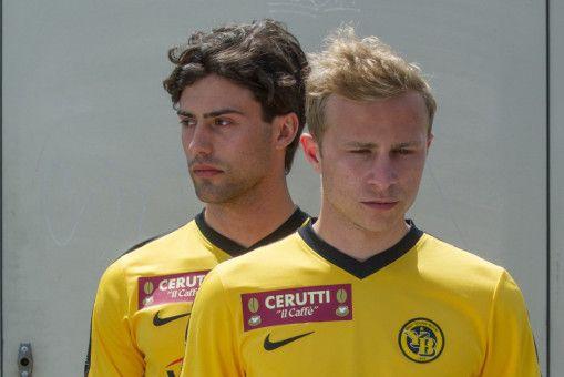 Mario (Max Hubacher, rechts, mit Aaron Altaras) ist Profi-Fußballer und steht vor einer ganz großen Karriere.