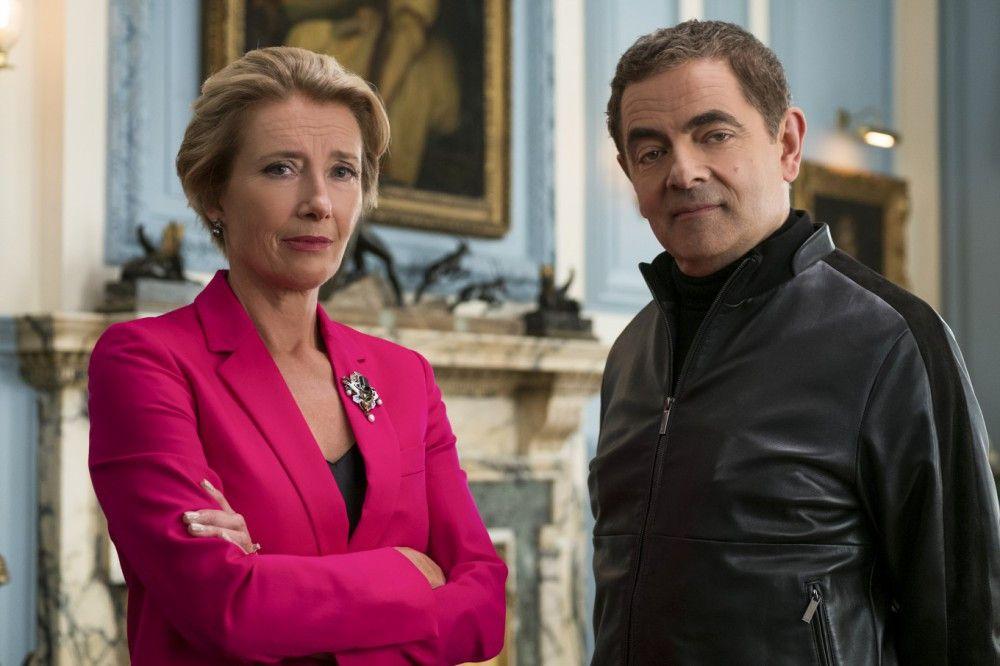 Die Premierministerin (Emma Thompson) greift zu verzweifelten Mitteln - und reaktiviert Johnny English (Rowan Atkinson).