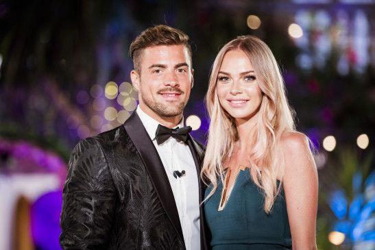 """Tobias und Natascha landeten im Finale von """"Love Island"""" auf Platz zwei."""