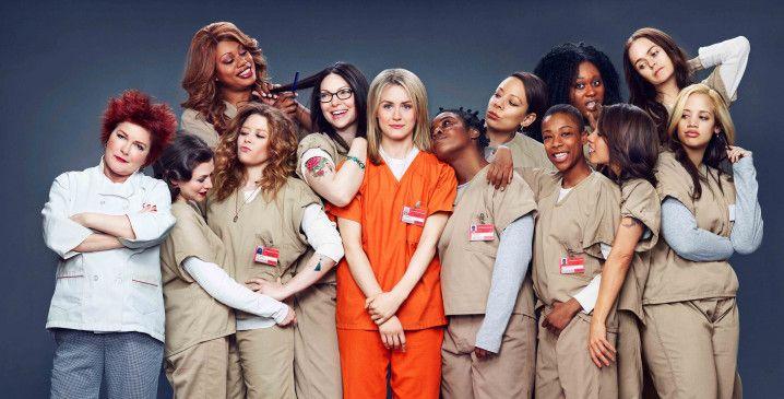 """Der  Cast  von """"Orange is the New Black""""."""